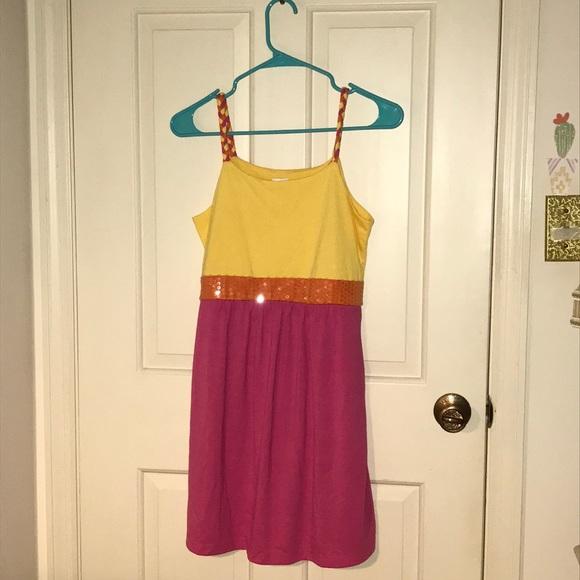 Xhilaration Other - Xhilaration yellow & pink sundress (Target)